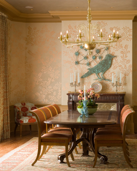 formal dining room by Jay Jeffers