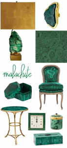 malachite home goods