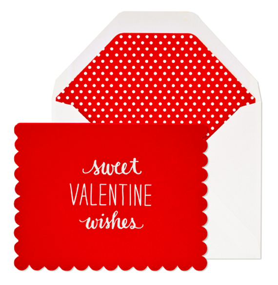 sweet valentine wishes card