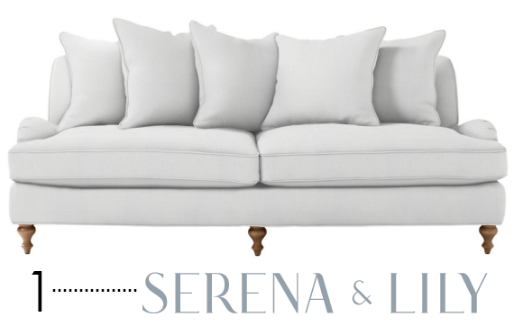best sofa brands - Serena & Lily