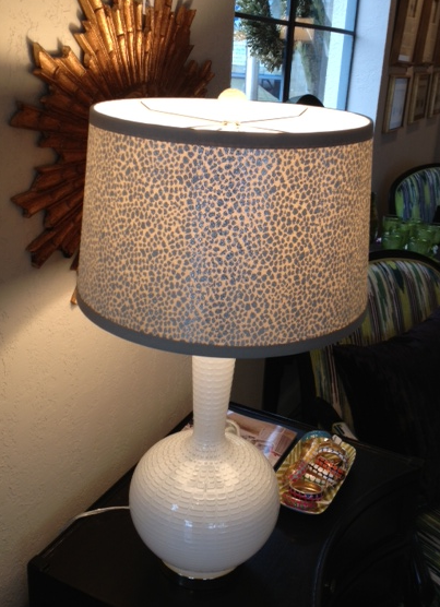 pearlized lamp shades