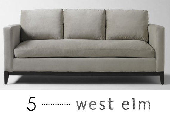 quality sofas online - west elm