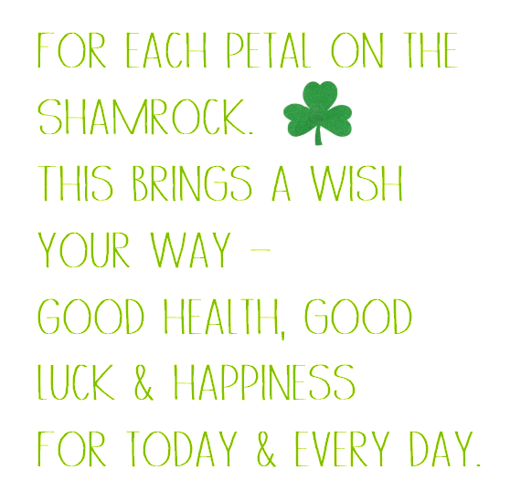 shamrock wish