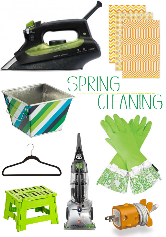 spring cleaning checklist and essentials