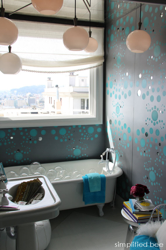 San Francisco Decorator Showcase Bubble Bath