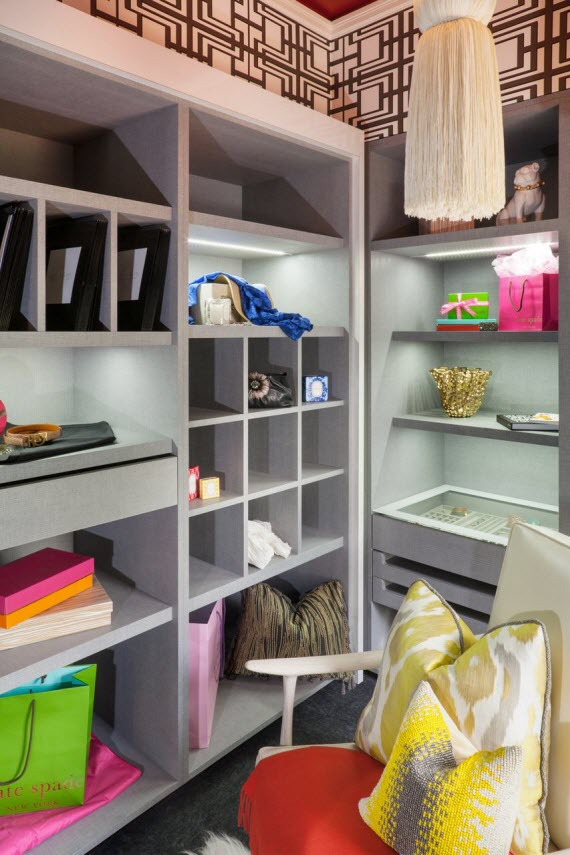 beautiful walk-in closet design