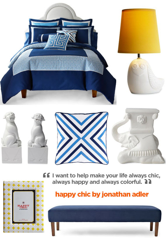 "jonathan adler's ""happy chic""  for jcpenney"