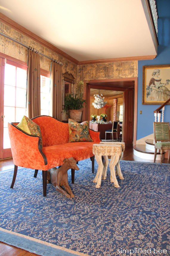 Elegant Foyer - Woodside Decorator Show House