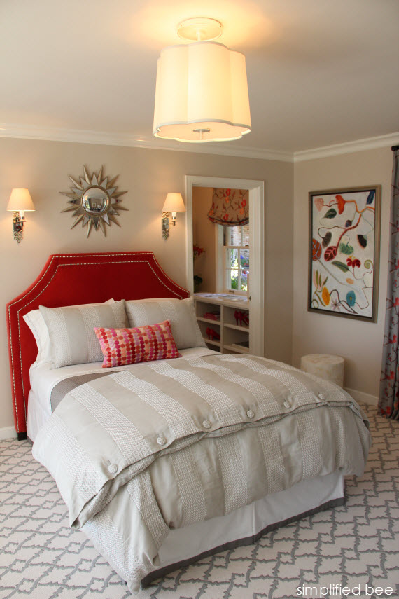 Guest Bedroom - Peninsula Decorator Show House