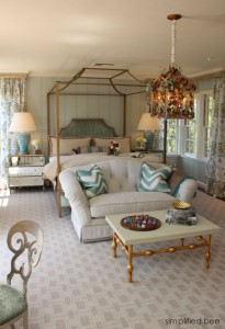 Guest Bedroom - Peninsula Decorator Show House - House of Ruby