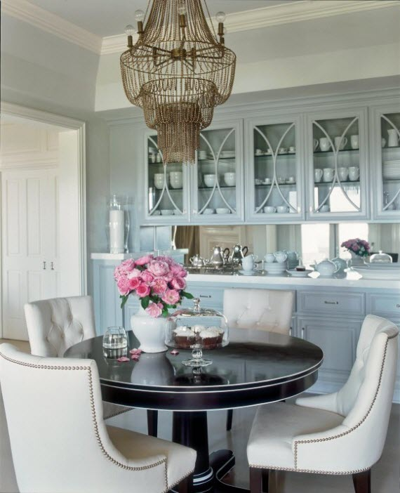 Jennifer Lopez's Kitchen // Veranda // designer Michelle Workman