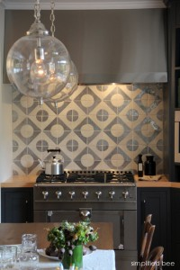 designer grey kitchen by Jute Interior Design