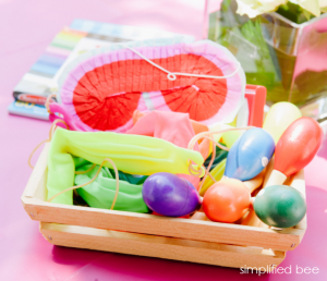 kids fiesta party ideas with pinata