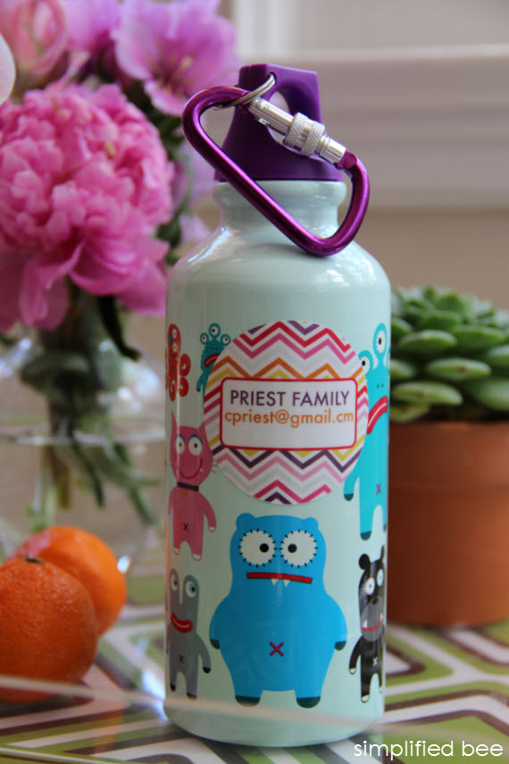personalized kids labels giveaway @simplifiedbee