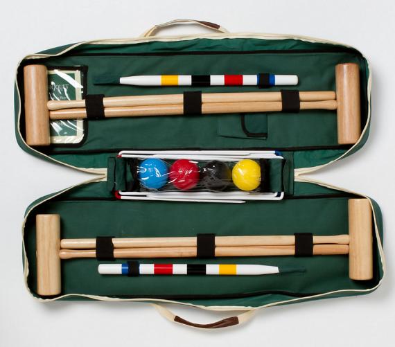 yard croquet set - lawn games