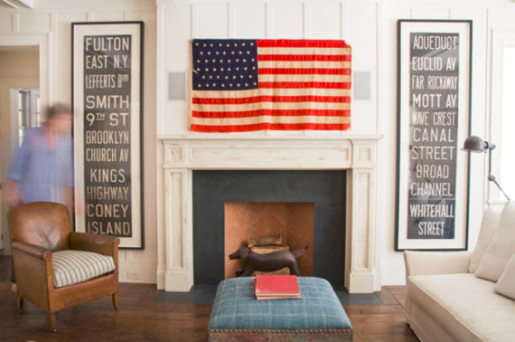 American Flag - Living Room