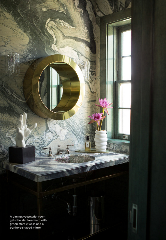 Superbe Marble Bathroom By Kelly Wearstler