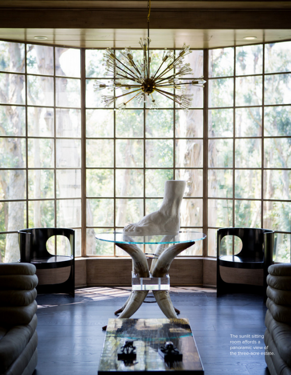 Tour of Kelly Wearstler's Beverly Hills Mansion