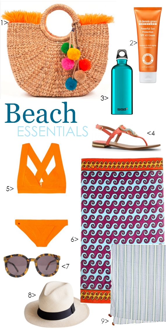 Beach Bag Essentials 2013 - Simplified Bee