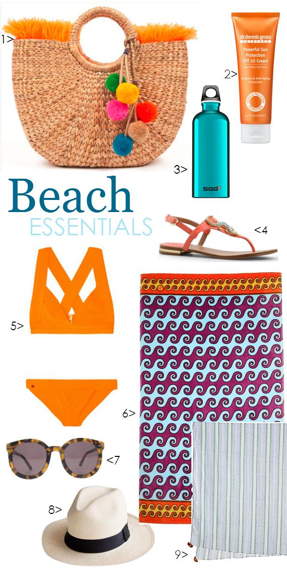Beach Bag Essentials 2013 - Simplified Bee