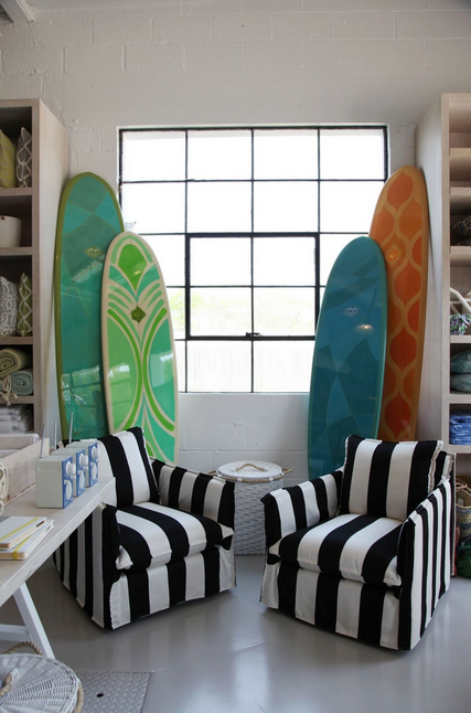 hand-painted surfboards