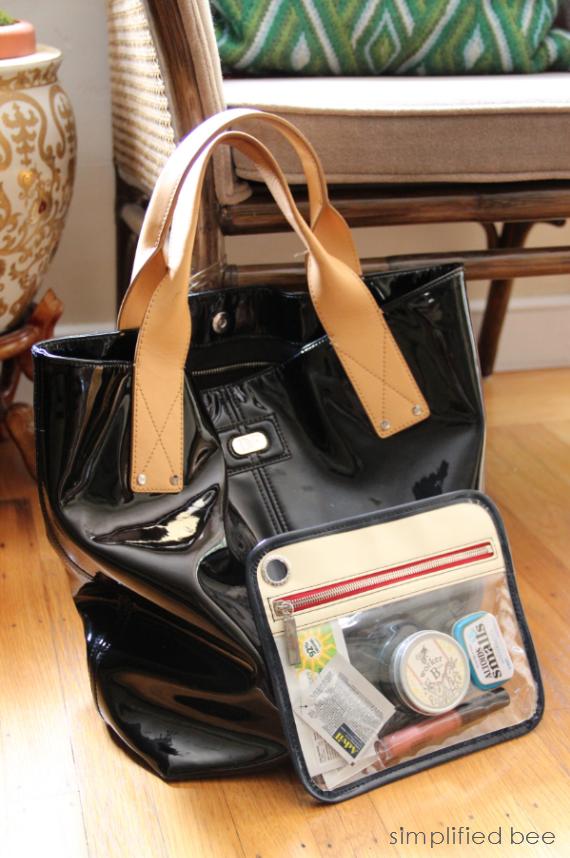 stylish handbag organizing solution