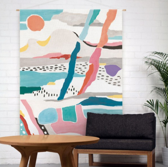 coastal artwork - Swedish inspired #colorful #art