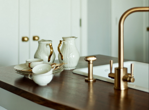 Brass Design Trend // Kitchen Facet