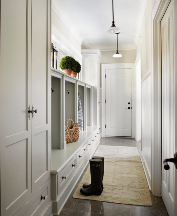 Superb Hallway Mudroom Design Part 11