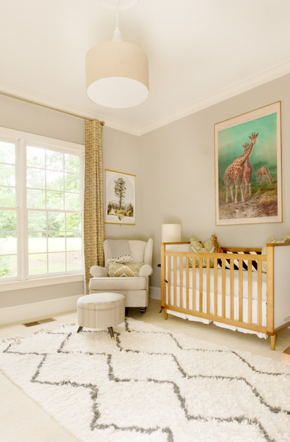safari nursery room for baby boy