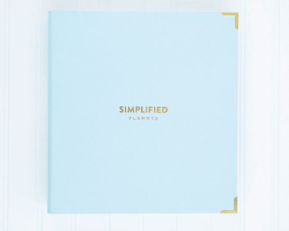 simplified day planner / binder for 2014