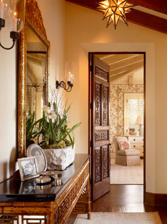 Elegant Entry - Suzanne Tucker Interiors