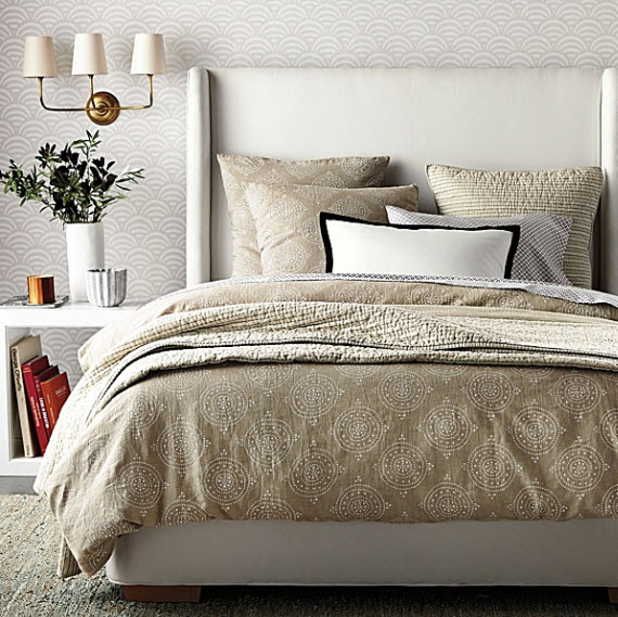 Serena and Lily neutral bedroom for fall 2013