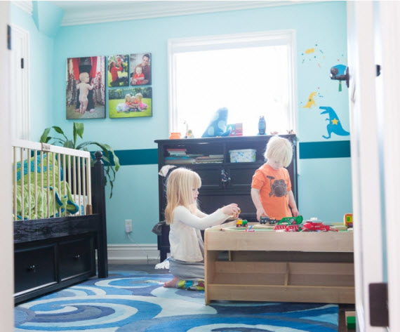 boys blue nursery - Suzanne O'Brien