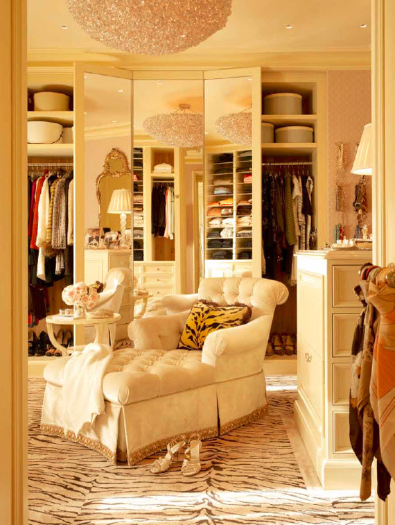 couture dressing room - Suzanne Tucker Interiors