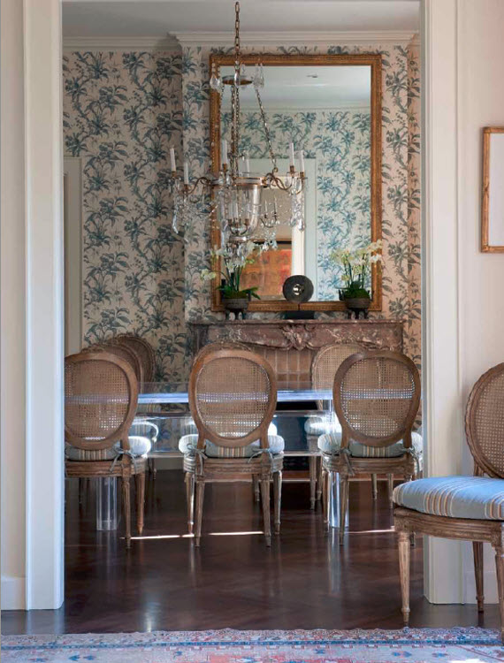 formal dining room - Suzanne Tucker Interiors