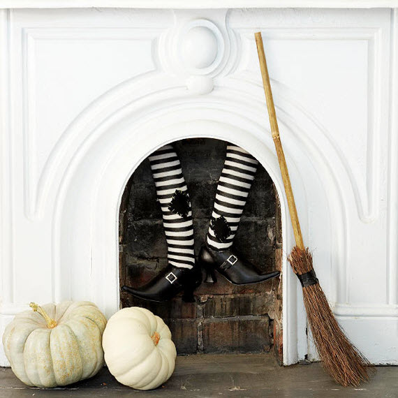 witch decorating ideas for Halloween