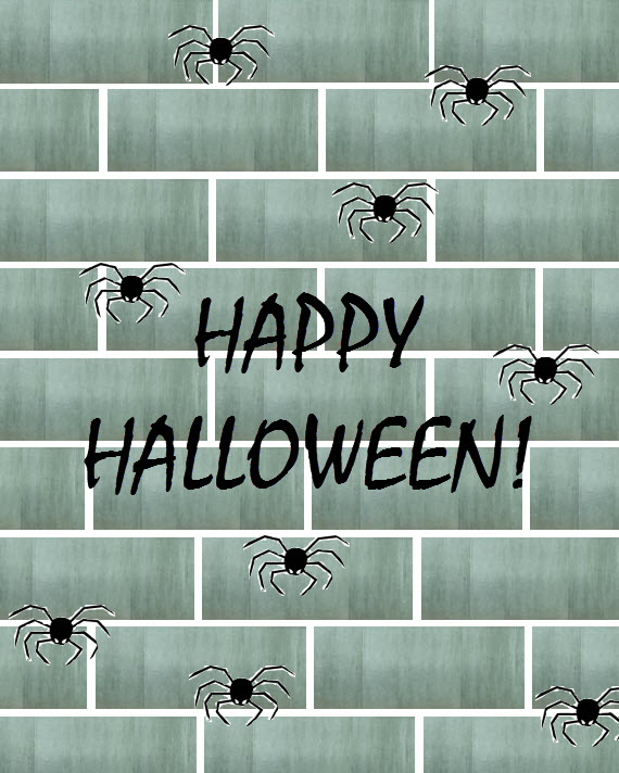 Happy Halloween #spiders