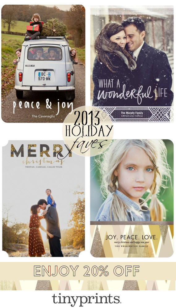 Tiny Prints Coupon Code 2013 - Holiday Cards