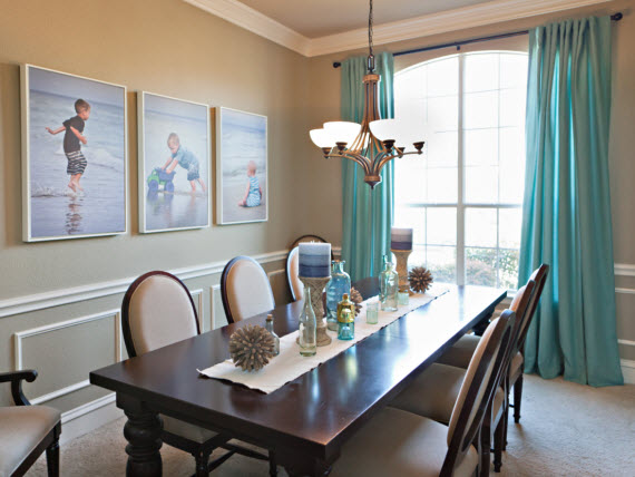 kid-friendly dining room