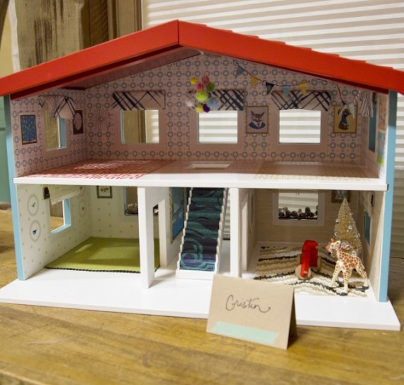 Land of Nod Dollhouse by Simplified Bee #NodEvents