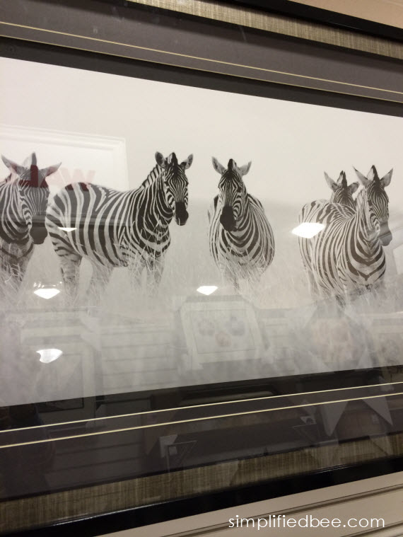 large-scale zebra art #thegifter