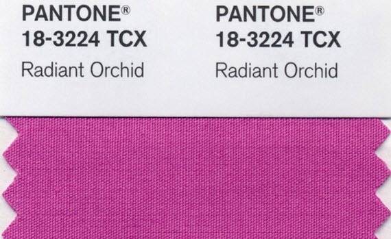 Pantone Radiant Orcid - Color of 2014