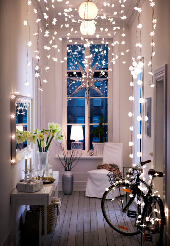 chic urban apartment christmas decor