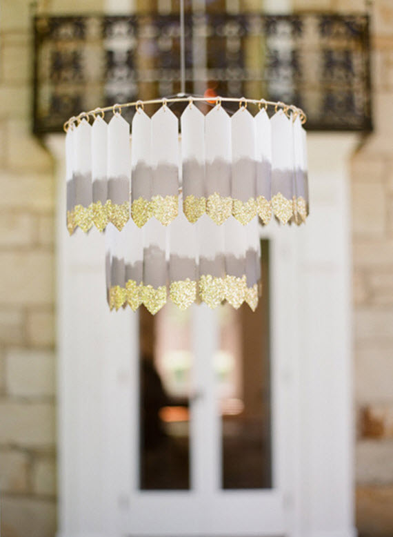 diy art deco chandelier