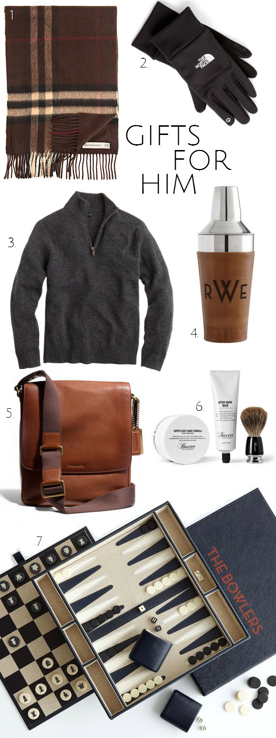 holiday gift guide for the gentlemen // www.simplifiiedbee.com