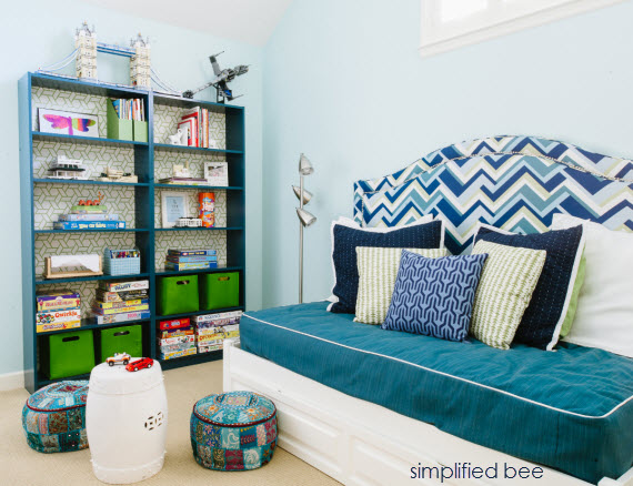 playroom and guest room design // cristin priest // simplified bee