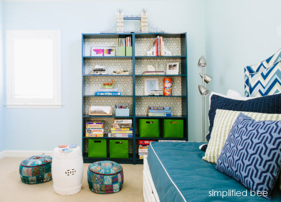 playroom and guest room design // cristin priest of simplified bee