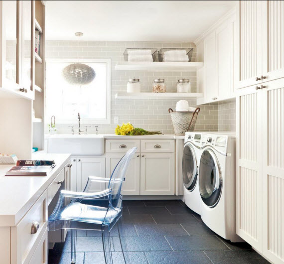 Beautiful Laundry Room By Kriste Michelini Interiors