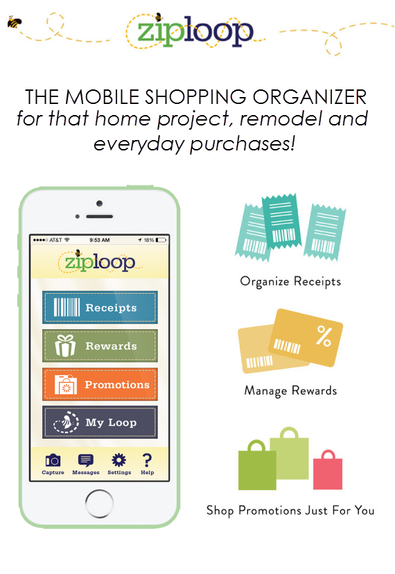 Ziploop Mobile Shopping App